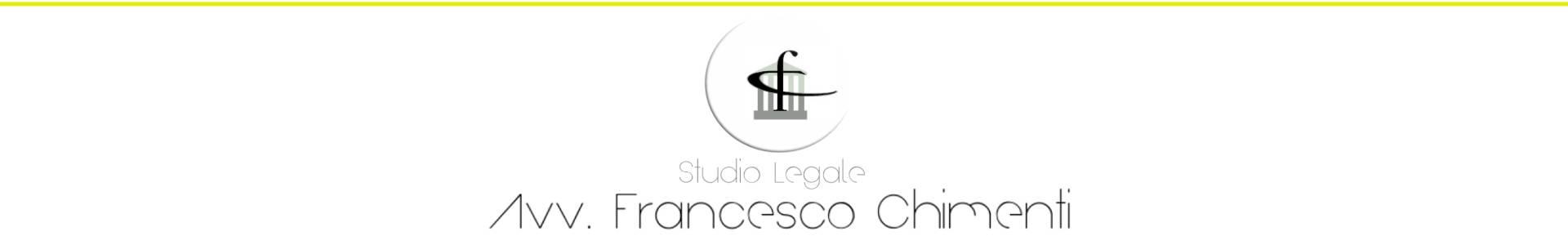 - Studio Legale Avv. Francesco Chimenti - P.I.: 02105910786